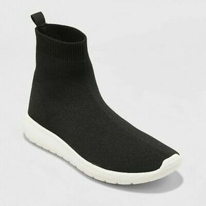 A New Day Randi high top sock sneakers - size 8